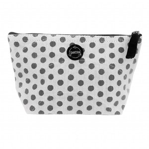 Smateria Recycled Toilet Bag Nick S - Black Dot