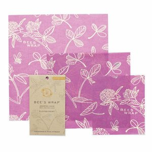 Bee's Wrap Beeswax Wrap (S / M / L) - Miimi's Purple (3 Pieces)