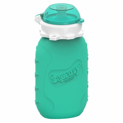 Squeasy Gear Silicone Squeeze bottle 180ml - Aqua