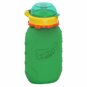 Squeasy Gear Silicone Squeeze Bottle 180ml - Green