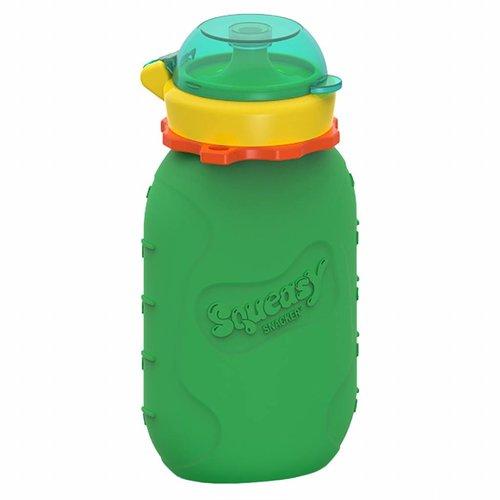 Squeasy Gear Siliconen Knijpzakje 180ml - Green