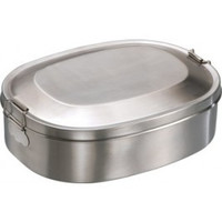 "Stainless Steel Lunchbox Large ""Break"""