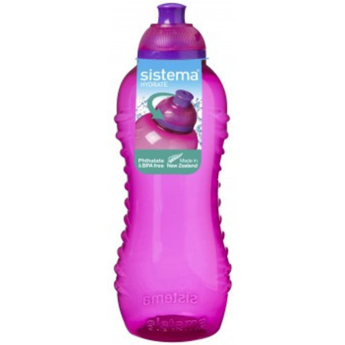 Sistema Drinkfles Squeeze 460ml - Roze