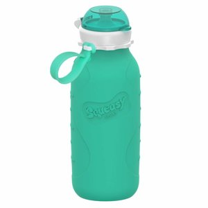 Squeasy Gear Silicone Squeeze Bottle 440ml - Aqua