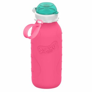 Squeasy Gear Silicone Squeeze Bottle 440ml - Pink