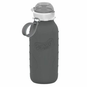 Squeasy Gear Silicone Squeeze Bottle 440ml - Gray