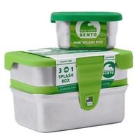 RVS Lunchbox Eco Splash box 3 in 1 Lekvrij