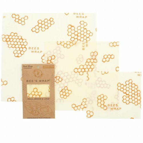 Bee's Wrap Beeswax Wrap - Starter Pack (3 Pieces)
