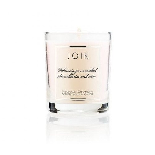 Joik Scented Soywax Candle - Strawberries and Wine