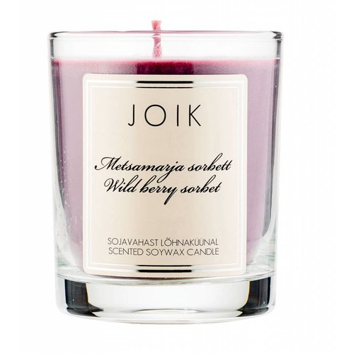 Joik Scented Soywax Candle - Berry Sorbet