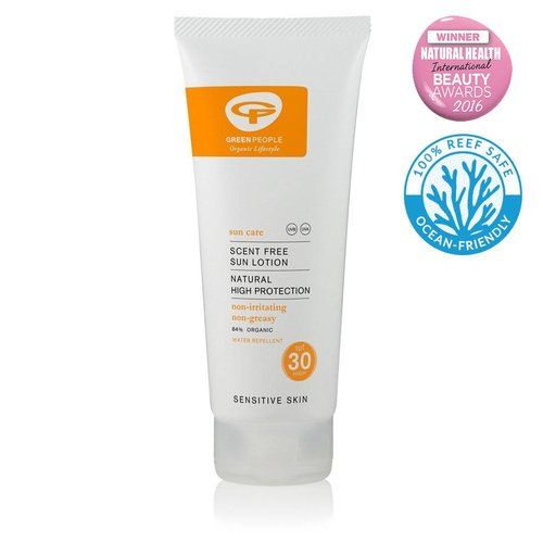 Green People Zonnebrandcreme Parfumvrij SPF30 (200ml)