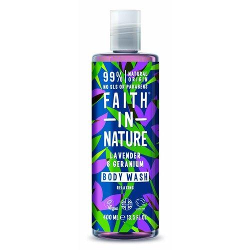Faith In Nature Body Wash Lavender & Geranium (400ml)