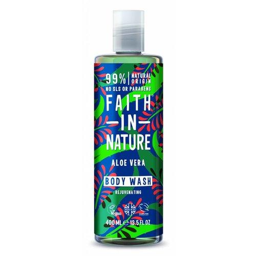 Faith In Nature Body Wash Aloe Vera (400ml)