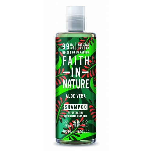 Faith In Nature Shampoo Aloe Vera (400ml)