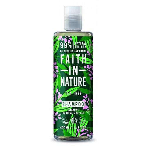Faith In Nature Shampoo Tea Tree 2% (400ml)