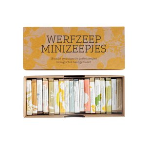 Werfzeep GiftBox With 18 Mini Soaps
