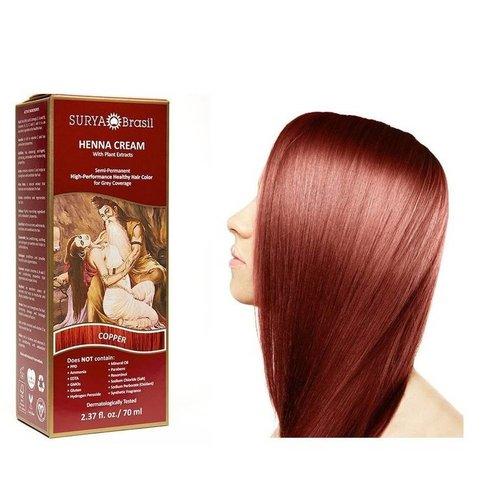Surya Brasil  Haarverf Cream - Copper