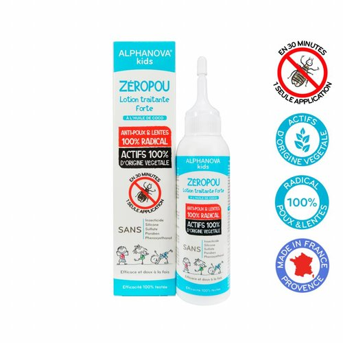 Alphanova Kids Bio Zeropou  Anti Luizen Behandeling