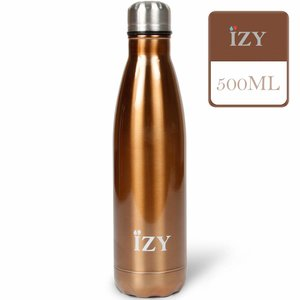 IZY RVS Drinkfles/Thermosfles (500ml) - Chrome Bronze