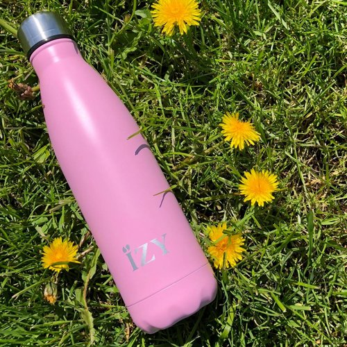 IZY Stainless Steel Thermos (500ml) - Matte Pink