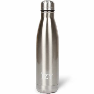 IZY RVS Drinkfles/Thermosfles (500ml) - Chrome Silver