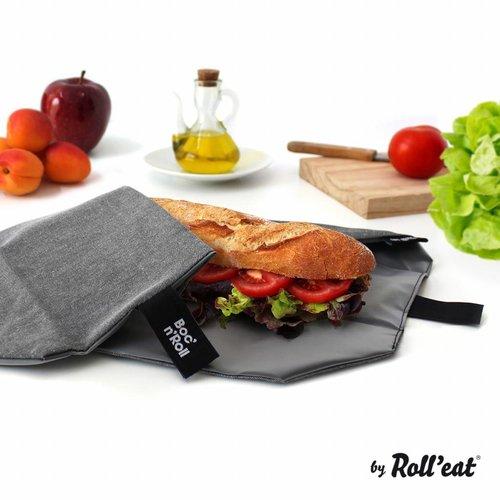 Roll'Eat Boc'n'Roll Foodwrap - Nature Black