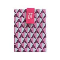Boc'n'Roll Foodwrap - Tiles Pink