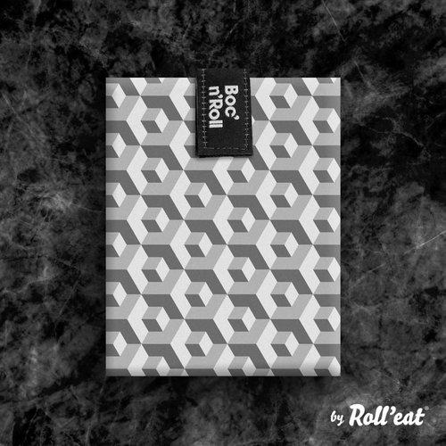 Roll'Eat Boc'n'Roll Foodwrap - Tiles Black