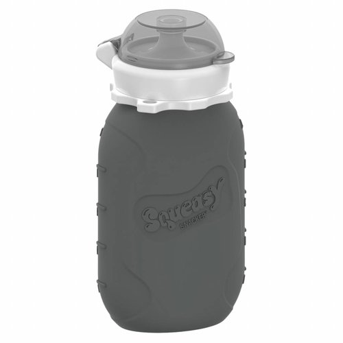 Squeasy Gear Silicone Squeeze Bottle 180ml - Gray