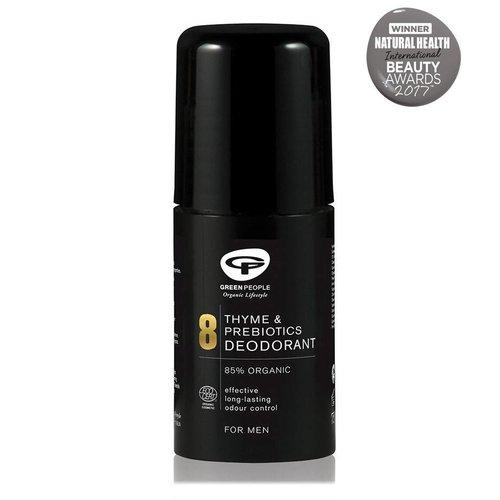 Green People For Men - No. 8 Thyme & Prebiotics Deodorant