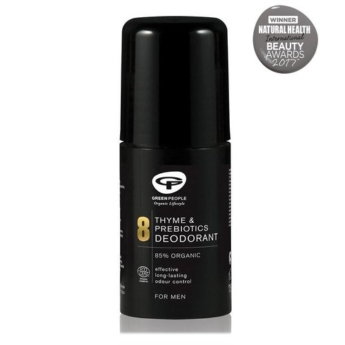Green People For Men - No. 8 Thyme & Prebiotics Deodorant