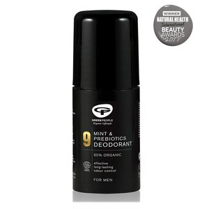 Green People For Men - No. 9 Mint & Prebiotics Deodorant