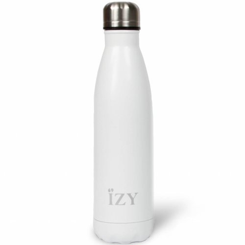 IZY RVS Drinkfles Thermosfles (500ml) - Matte White