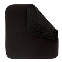 Make Up Reusable Cloth Wipes - Black