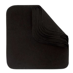 ImseVimse Make Up Reusable Cloth Wipes - Black
