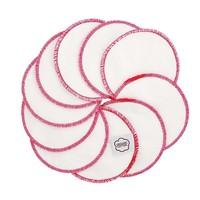 Washable Cotton Pads - Pink Trim