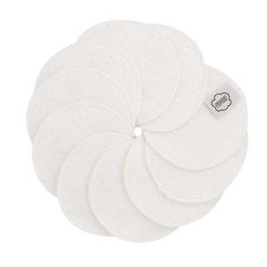 ImseVimse Wasbare Wattenschijfjes - White