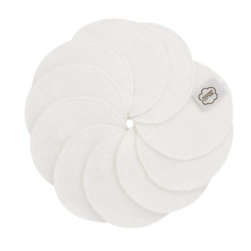 ImseVimse Reusable Cleansing Pads - White