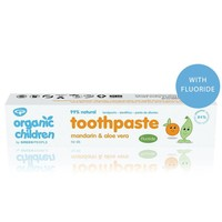 Organic Children Toothpaste -  Mandarin & Aloe Vera Met Fluoride
