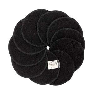 ImseVimse Wasbare Wattenschijfjes - Black