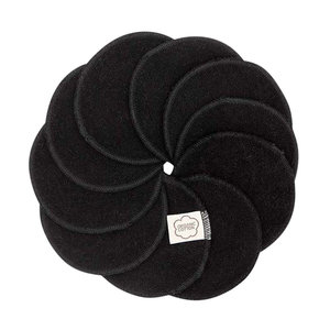 ImseVimse Washable Cotton Pads - Black