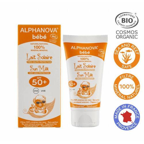 Alphanova Sun BIO BABY SPF 50+ Sun Milk