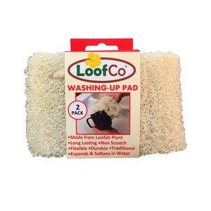 Loofco Washing Sponge Loofah (2 pcs)