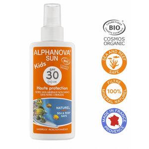 Alphanova Sun Organic Sunscreen Spray Kids - SPF30