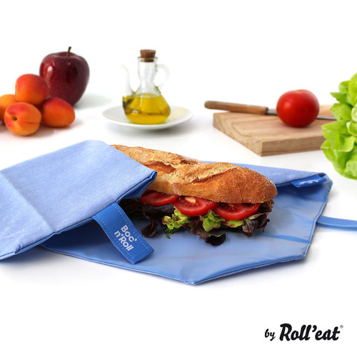 Roll'Eat Boc'n'Roll Foodwrap - Nature Blue