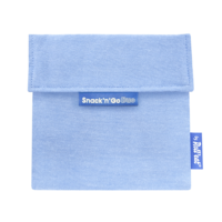 Snack'n'Go Herbruikbaar Boterhamzakje - Eco Blue