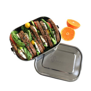 Made Sustained Stainless Steel Lunchbox Large Leakproof