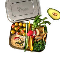 Stainless Steel Lunchbox Large Trio
