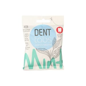 Denttabs Toothbrushing Tablets - With Fluorine