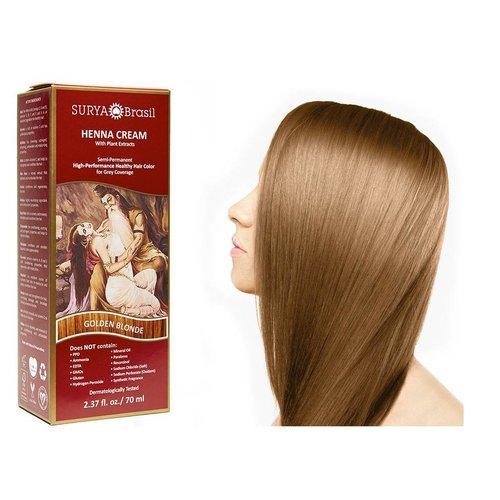 Surya Brasil  Natuurlijke Haarverf Cream - Golden Blonde